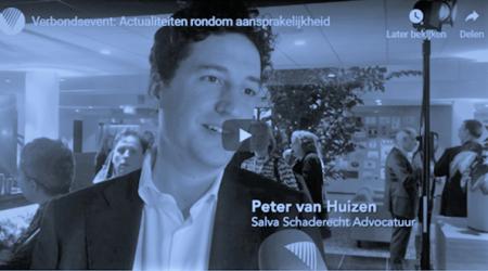 foto van Peter van Huizen bij Verbond van verzekeraars over de nieuwe opzetclausule