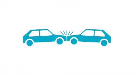 tekening van botsende autos bij artikel over onrechtmatige daad (artikel 6:162 BW)